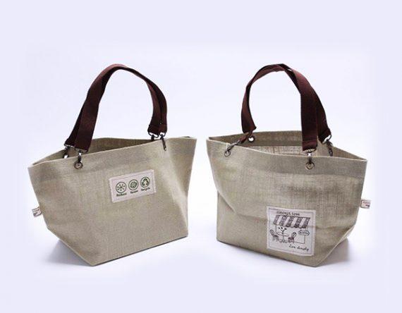 กระเป๋าผ้า Jute Shopper